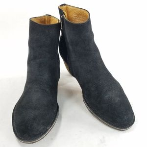 Clarks Originals Leather Suede Ankle Bootie Shoes